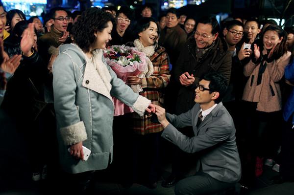 傲娇女神刘一含终于等到了技术宅男的求婚