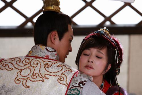 59岁的刘晓庆更是挑战16岁的漠北公主一角。