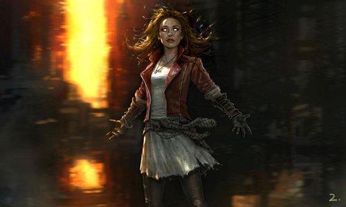 """""""红女巫""""(Scarlet Witch)"""