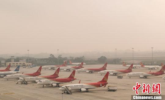 14个外地飞南宁航班至深圳避雾千旅客余名滞留(图)2004年毕业证高中样本的图片