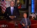 《艾伦秀第11季片花》奥巴马卫星对话艾伦 米歇尔携子访华留自己遛狗