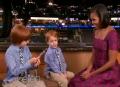 《艾伦秀第11季片花》莱纳和阿提卡斯会见奥巴马夫人