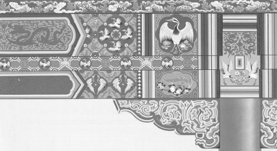 《中国建筑彩画图案》