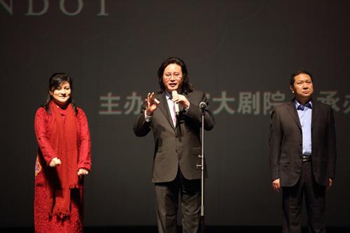歌剧电影《图兰朵》首映现场