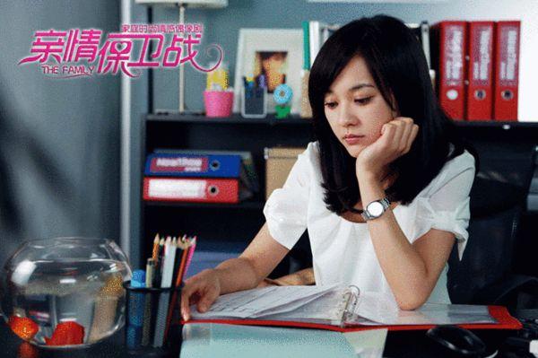 陈意涵在《亲情保卫战》中饰演女主角瑞真真