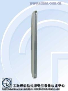 电信版三星GALAXY S5(图片来自工业和信息化部电信设备认证中心)
