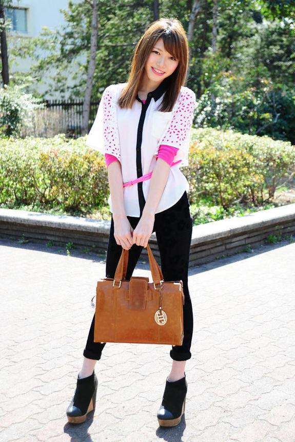 日本大学街拍美女人气排行榜Top25组图 搜狐