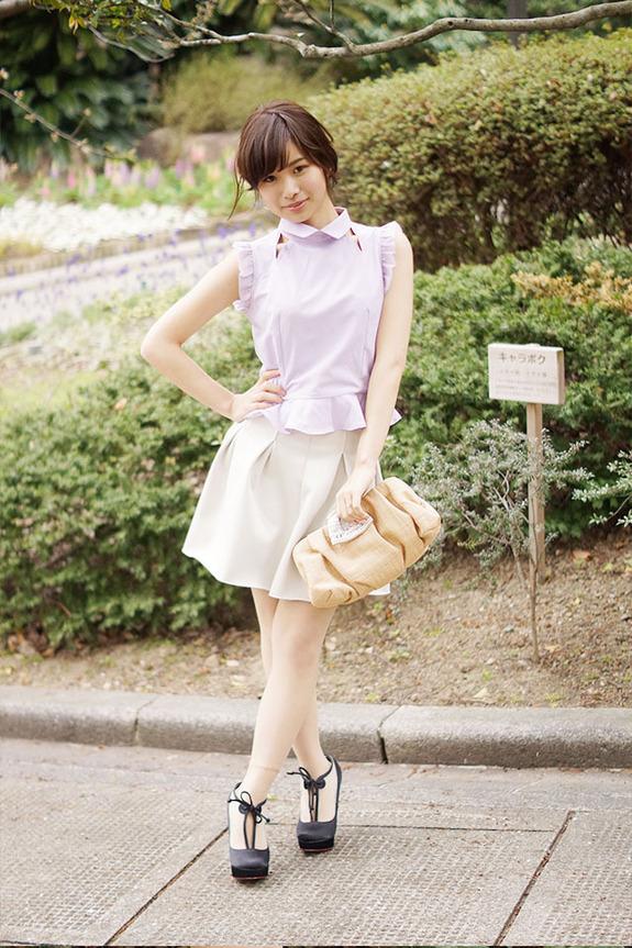 日本大学街拍美女人气排行榜top25组图