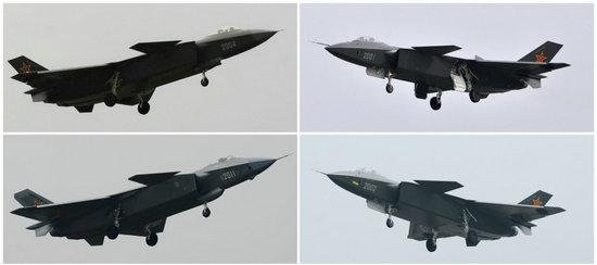原文配图:近日,网络上出现了一张目前已经成功的试飞多架歼-20战斗机组合图。