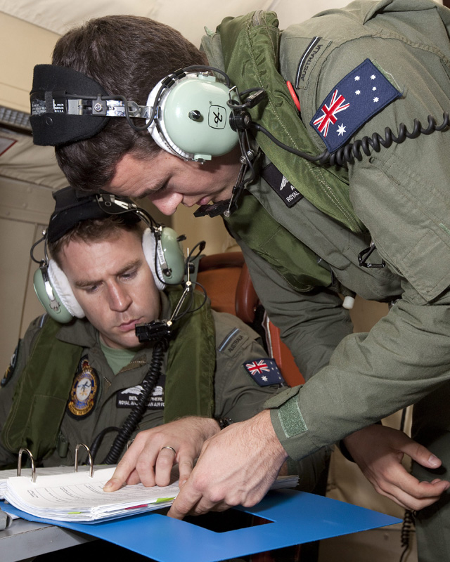 """澳大利亚/澳大利亚国防部公布的""""猎户座""""巡逻机内情况"""