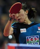 图文:乒乓球亚洲杯22日赛况 于梦雨回球瞬间