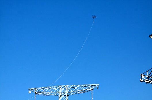 2014年3月21日7时35分钟,应北京电力某公司的要求,北方天途航空研制的