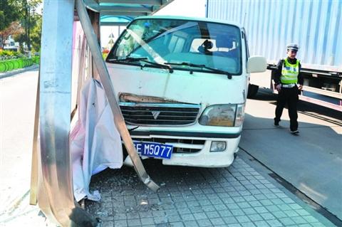 天津公交失控