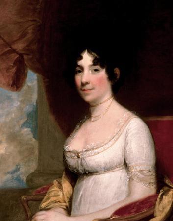 多莉·麦迪逊是美国第四任总统詹姆斯·麦迪逊的妻子
