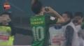 中超进球视频-张稀哲点射推左下角 国安1-0绿地