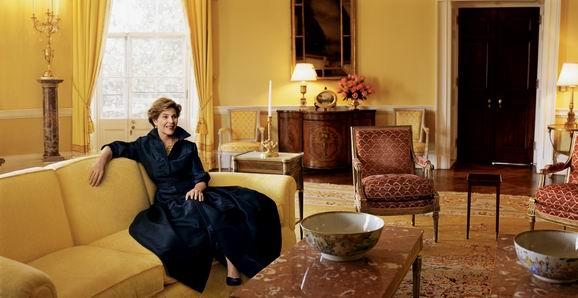 从第一夫人家居照看白宫变迁