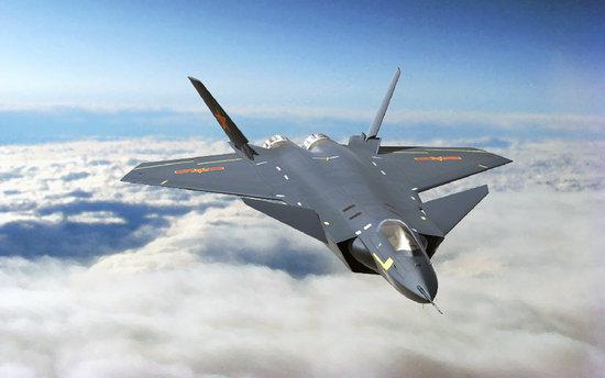 原文配图:图为J-20战斗机。