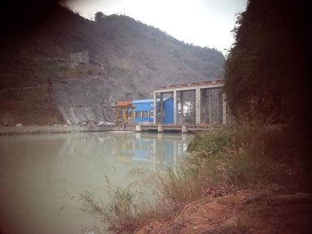 """发生""""7・19""""事故的沙沙坡水电站 任东杰 摄"""