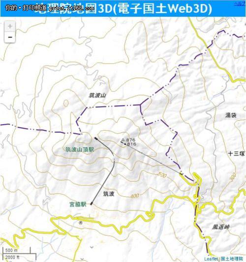 日本提供地形地图3d打印技术服务