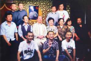郑小山(第二排左起第三个)