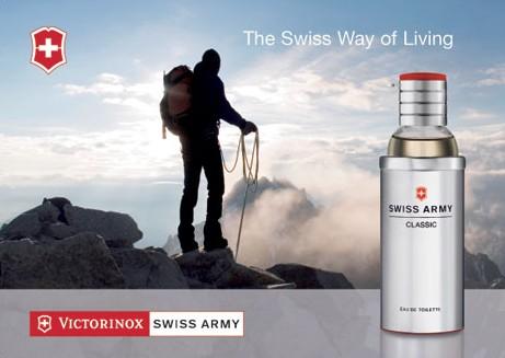 维氏瑞士军刀 (Victorinox Swiss Army) 经典男用香水