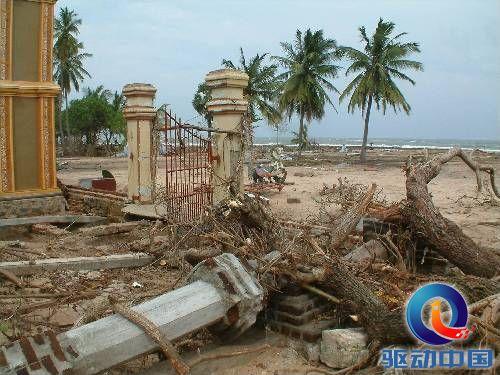 2004年12月26日,印度洋发生了海啸,海洋中心震级达里氏9.