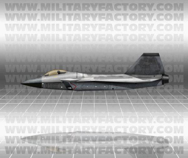 原文配图:KF-X战机。