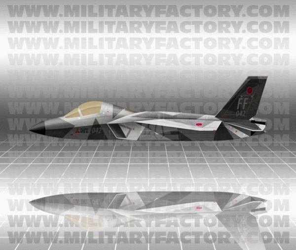 """原文配图:日本正在验证ATD-X""""心神""""战机。"""