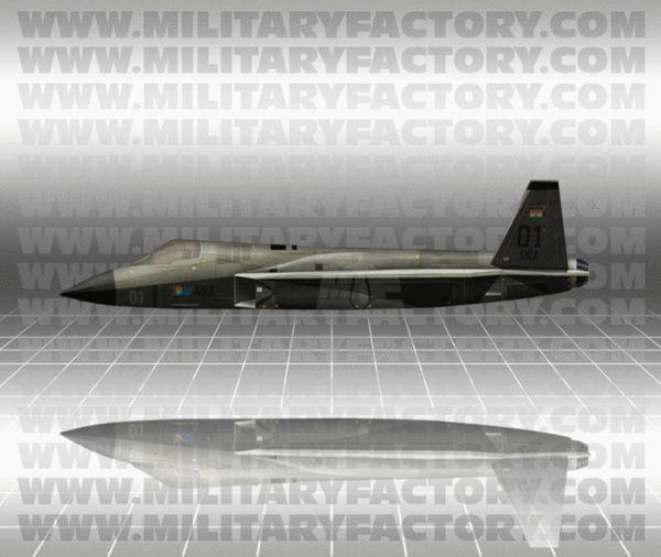 """原文配图:AMCA""""先进中型战斗机""""。"""