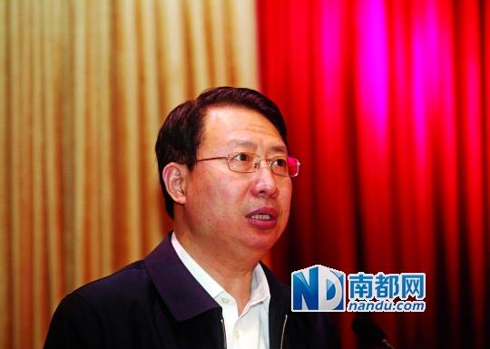 广东省原外经贸厅厅长郭元强,担纲新组建的广东省商务厅厅长。 南都资料图片