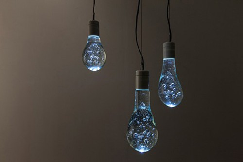 实心水滴灯泡 如梦如幻的床头小家电
