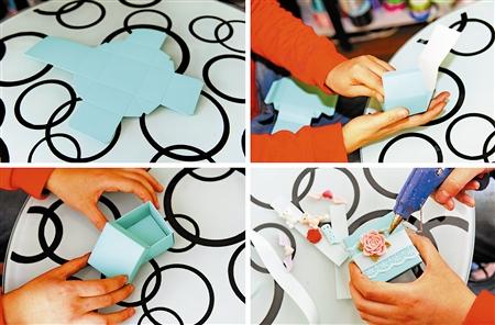 这是单玥制作一个糖盒的过程