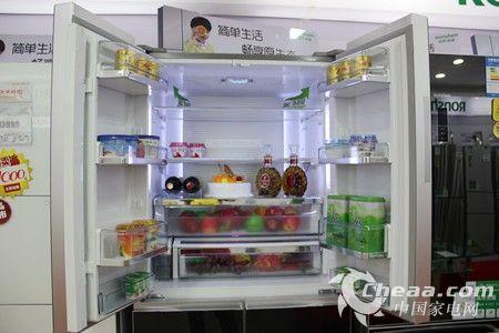 容声BCD-430WPMB/A冰箱冷藏室