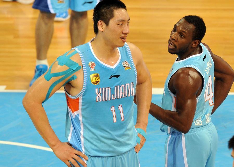 (体育)(11)篮球——cba总决赛第五回合:新疆广汇汽车胜北京
