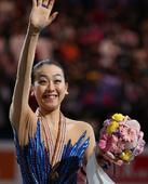图文:花滑世锦赛女单自由滑 浅田真央夺冠