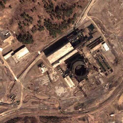 朝鲜泰川200兆瓦核反应堆(图) 39°55'40.08