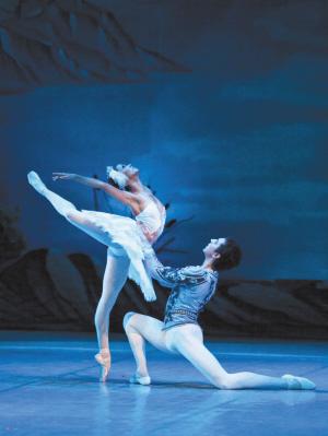 最美芭蕾《天鹅湖》(图)