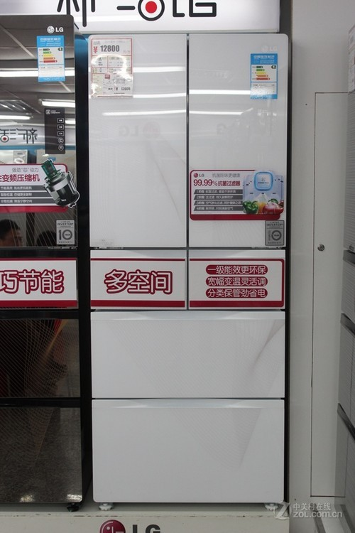 24℃超宽变温设计 LG六门冰箱售12800元
