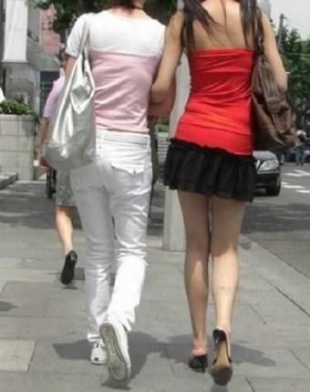 四川果然出美女 街头随处可见 搜狐