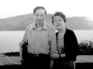 两位老人当年的结婚照