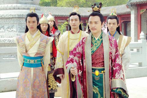 李世民和皇子们