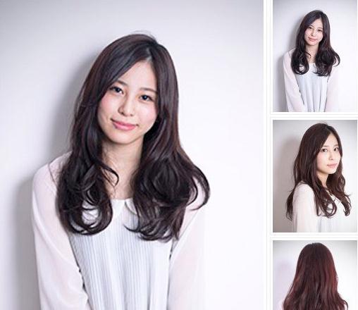 style15:斜刘海卷发图片