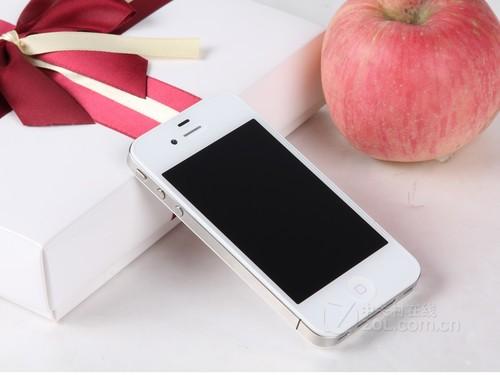 苹果 iPhone4 白色 外观图