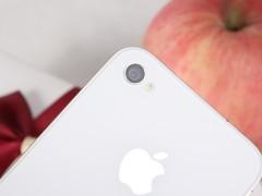 苹果 iPhone4 白色 摄像头图