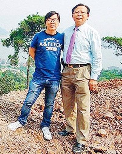 香港风水师 看墓园风水被山泥活埋(图)