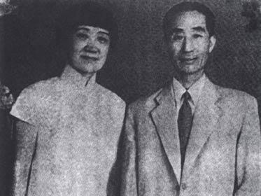 徐悲鸿/徐悲鸿与蒋碧薇(资料图)