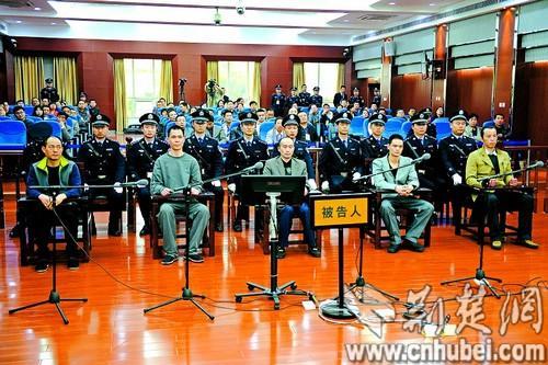 图为:陈力铭案庭审现场。(本报报道组 摄)