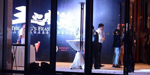 """海天盛筵传说中规格最高的酒会,记者们只能在""""外围""""窥到一角"""