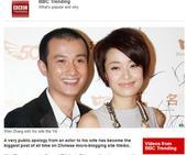 """文章因出轨事件获外媒关注 被称""""中国巨星"""""""