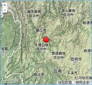 0级地震,震中位置北纬26.2°,东经100.5°,震源深度14千米.